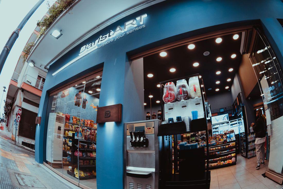BaristART Θεσσαλονίκη καφέ νέα καταστήματα Κασσάνδρου