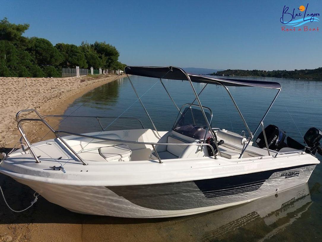 blue lagoon σκάφος Βουρβουρού