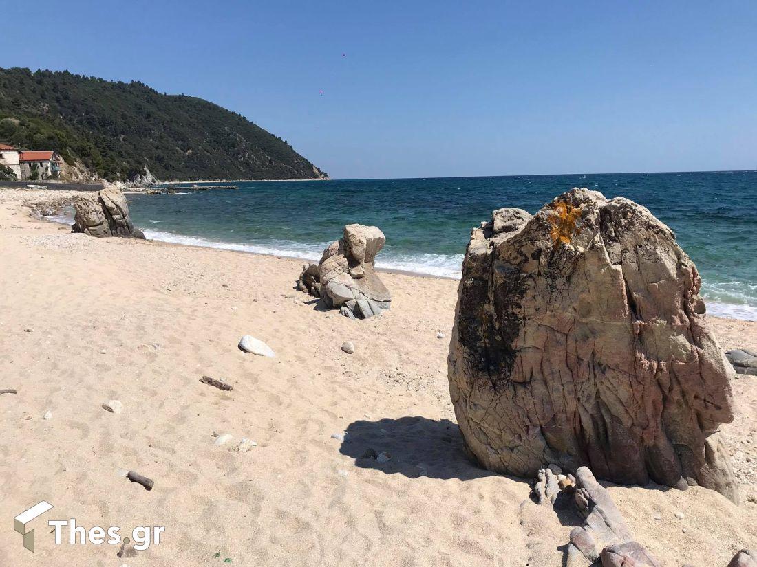 Παραλία Τρίμη Ουρανούπολη Αγιο Ορος
