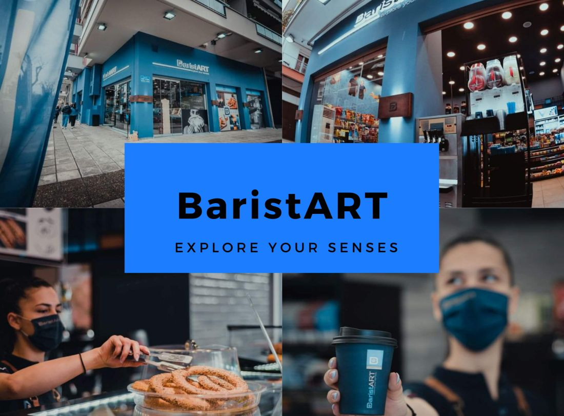 BaristART Θεσσαλονίκη καφέ νέα καταστήματα thes.gr