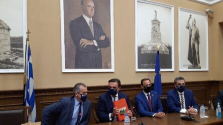 """Σχοινάς από Σέρρες: """"Ο Κωνσταντίνος Καραμανλής υπήρξε ο οραματιστής και θεμελιωτής της ευρωπαϊκής Ελλάδας"""""""
