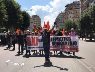 απεργία Θεσσαλονίκη