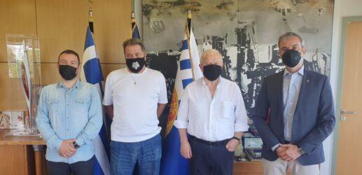 Η Νέα Τούμπα στο επίκεντρο συνάντησης Ζέρβα με τη Διοίκηση του Α.Σ. ΠΑΟΚ