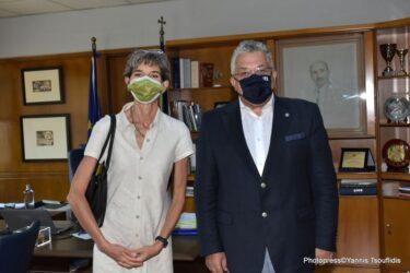 Αθήνα: Συνάντηση του Πρύτανη του ΑΠΘ με την Πρέσβειρα της Μεγάλης Βρετανίας