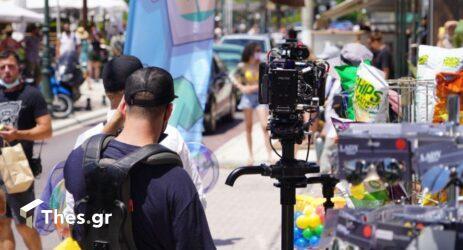 Θεσσαλονίκη: Στη Μηχανιώνα συνεχίζονται τα γυρίσματα της νέας ταινίας του Μπαντέρας (ΦΩΤΟ)