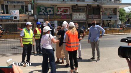 Μετρό Θεσσαλονίκης: Με αντεγκλήσεις και φωνές η άφιξη Μενδώνη-Καραμανλή στο σταθμό Βενιζέλου (ΒΙΝΤΕΟ & ΦΩΤΟ)