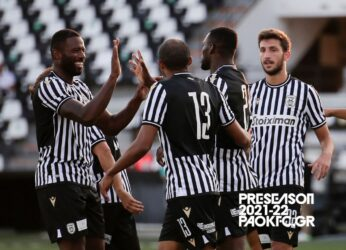 Φιλική νίκη του ΠΑΟΚ επί του Βόλου (3-1)
