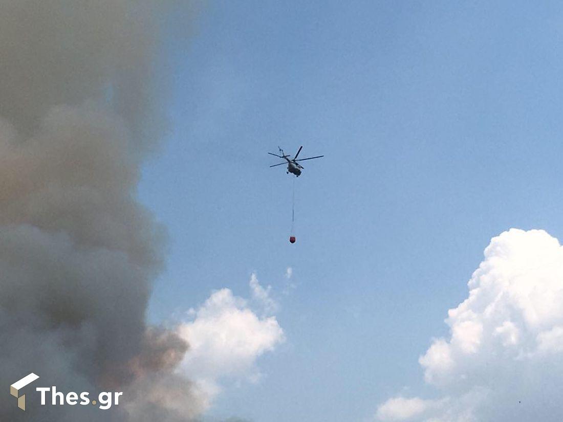 φωτιά Θεσσαλονίκη Σέιχ Σου