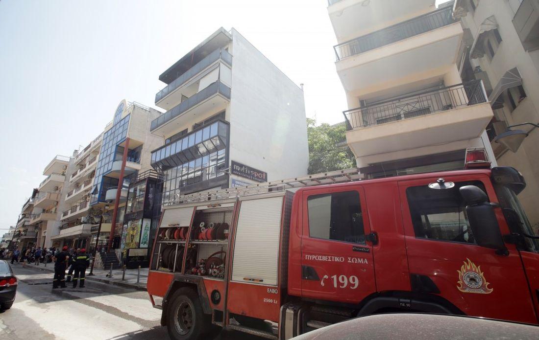 φωτιά Θεσσαλονίκη Καλαμαριά