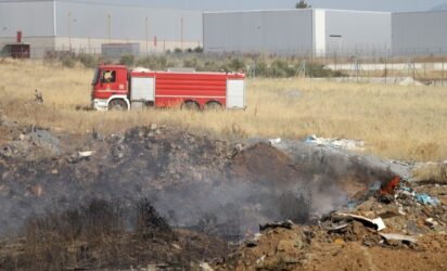 Θεσσαλονίκη: Φωτιά στην περιοχή των Διαβατών
