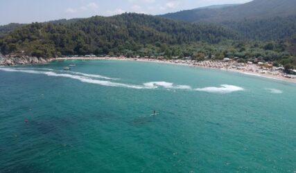 Χαλκιδική: Το φαινόμενο του ευτροφισμού πολιορκεί τις παραλίες (ΦΩΤΟ)