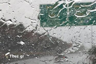 Ισχυρή καταιγίδα στην Εγνατία Οδό – Με χαμηλές ταχύτητες οι οδηγοί (ΒΙΝΤΕΟ)