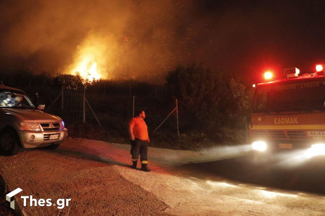 φωτιά Θεσσαλονίκη