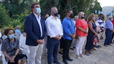 Χαλκιδική: Σχοινάς και Ιτούδης στα Θυρανοίξια ναού στη Φούρκα