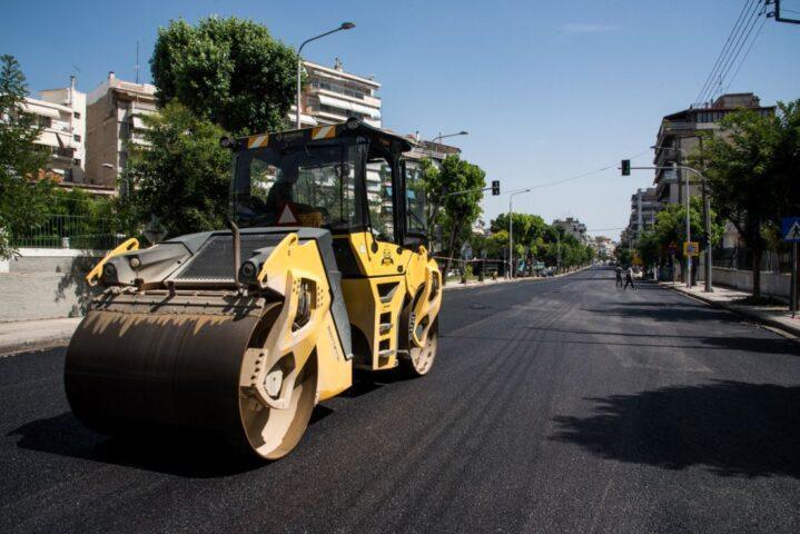Θεσσαλονίκη: Ολοκληρώνεται σήμερα η ασφαλτόστρωση της Λεωφόρου Νίκης