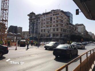 Θεσσαλονίκη: Με μία λωρίδα η κυκλοφορία στην Εγνατία (ΦΩΤΟ)