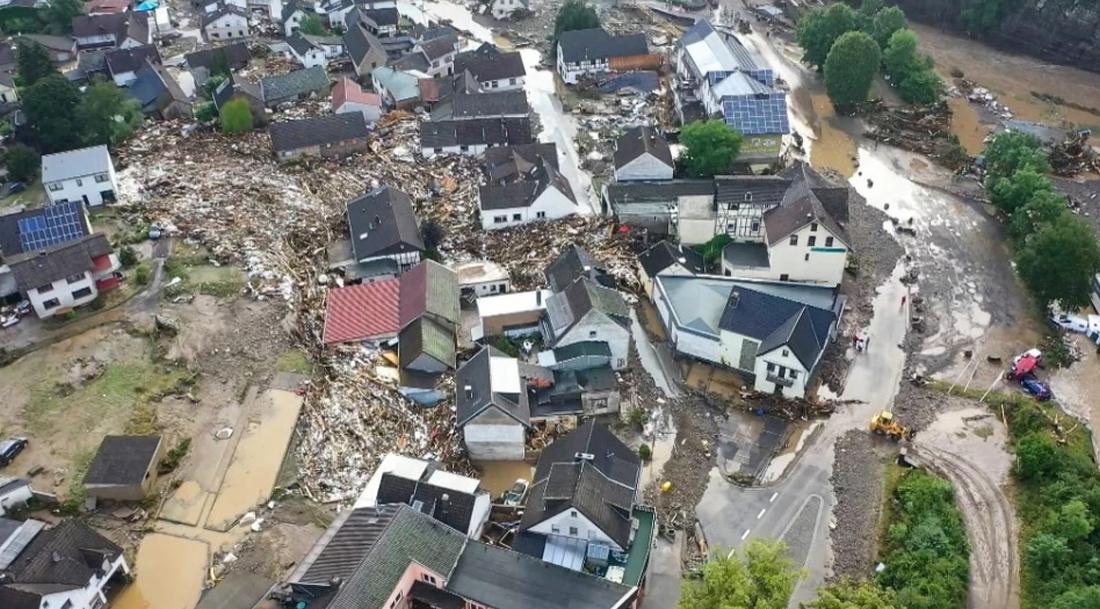 Γερμανία καταστροφές