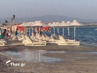 Επανομή: Τρία μέτρα έξω βγήκε η θάλασσα – Ξαφνικά μεγάλα κύματα στον Ποταμό (ΦΩΤΟ)
