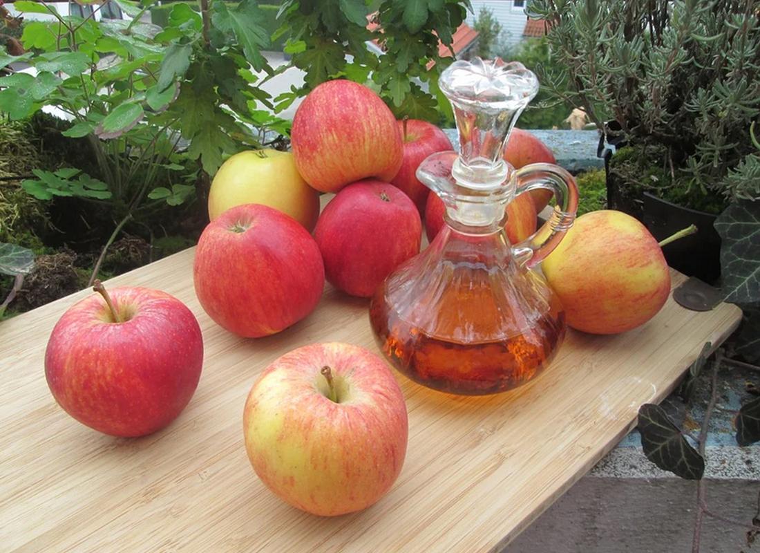 αποτοξίνωση με μηλόξυδο