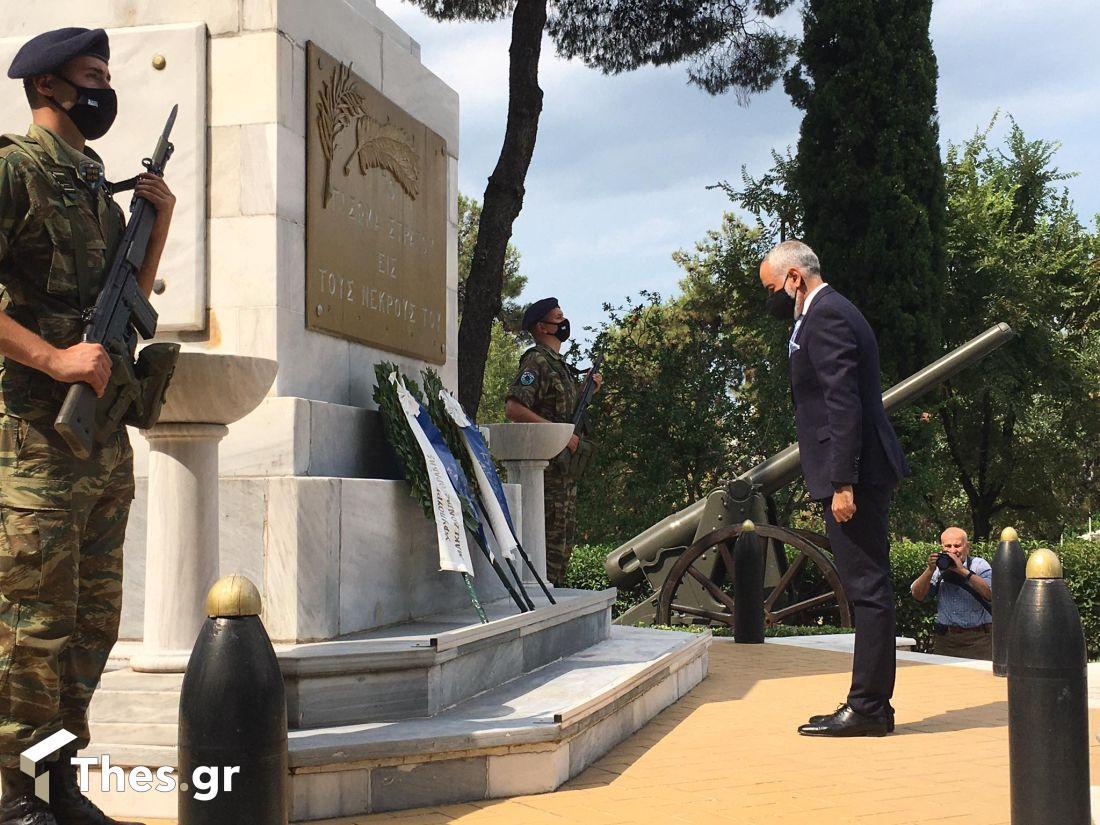 Θεσσαλονίκη: Μνημόσυνο για τους πεσόντες της τουρκικής εισβολής στην Κύπρο το 1974 (ΒΙΝΤΕΟ & ΦΩΤΟ), φωτογραφία-4
