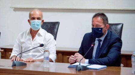 Συνάντηση Πέτσα-Ιωαννίδη στο Δήμο Δέλτα