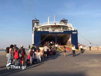 Γεμάτα τα καράβια από την Θεσσαλονίκη προς της Σποράδες