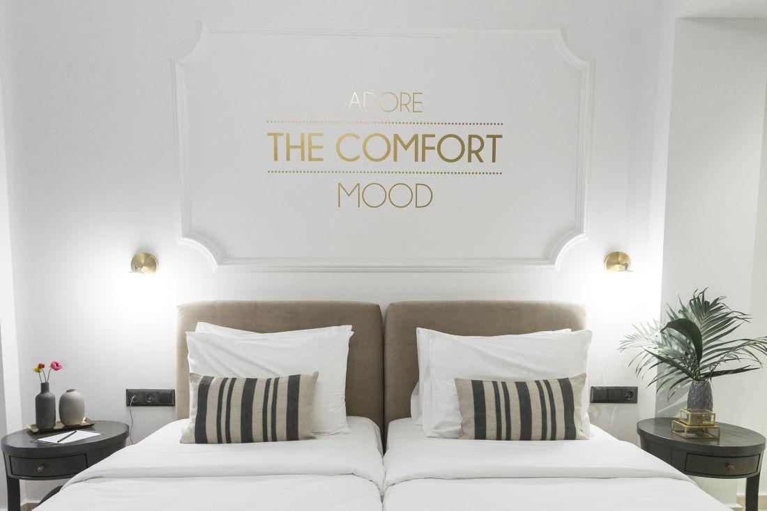 The Mood Luxury Rooms ξενοδοχείο Κατούνη 31 Πλατεία Εμπορίου