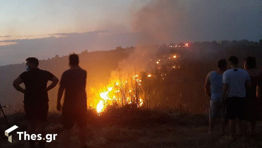 φωτιά τώρα Μαλεσίνα φωτιές