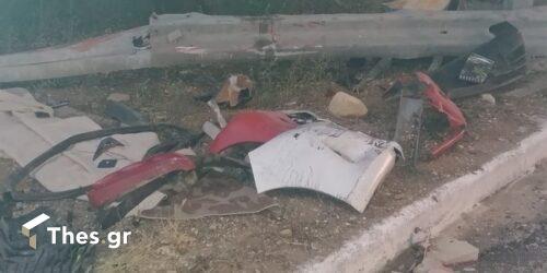 Τροχαίο με έναν νεκρό στην παλιά εθνική οδό Θεσσαλονίκης – Καβάλας