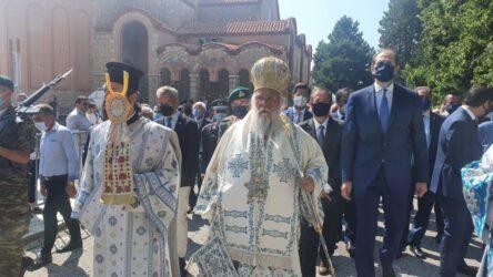 Στην Παναγία Σουμελά στο Βέρμιο ο Κωνσταντίνος Ζέρβας (ΦΩΤΟ)