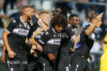 Αρχοντας στην Κροατία ο ΠΑΟΚ – Μπήκε στους ομίλους του Europa Conference League