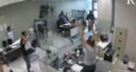 Θεσσαλονίκη: Βίντεο – ντοκουμέντο από τη ληστεία σε τράπεζα στο Ρετζίκι