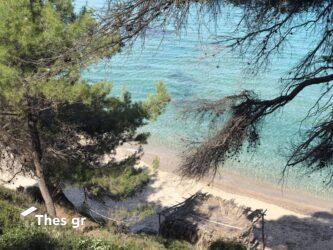 Ακτή Σαλονικιού Χαλκιδική Παραλία