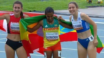 Στίβος: Χάλκινο μετάλλιο η Δεληγιάννη στο Παγκόσμιο Πρωτάθλημα Κ20