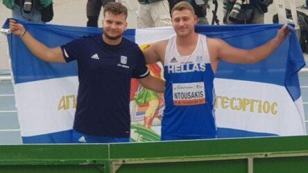 Αργυρό μετάλλιο ο Ορέστης Ντουσάκης στη σφυροβολία στο Παγκόσμιο Πρωτάθλημα Κ20