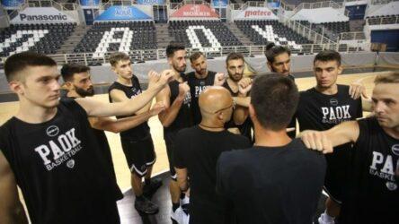 ΠΑΟΚ – Μπάσκετ: Φιλική νίκη επί της Τσερνομόρετς