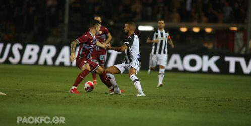 Conference League: Εσωσε την παρτίδα στο τέλος ο ΠΑΟΚ