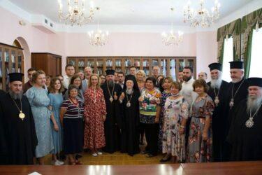 """Βαρθολομαίος προς Ελληνες της Ουκρανίας: """"Κρατήστε την ελληνική γλώσσα, το ήθος και τον πολιτισμό"""""""