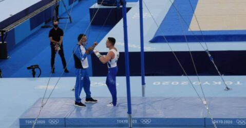 """Ολυμπιακοί Αγώνες: """"Αξιζε τη δεύτερη θέση ο Λευτέρης"""", λέει ο προπονητής του"""