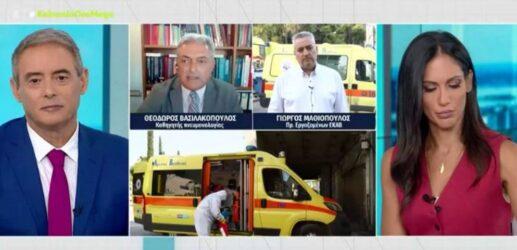 """Βασιλακόπουλος: """"Δέχομαι απειλές ότι θα με σπάσουν στο ξύλο και θα με βρουν στα χαντάκια"""""""
