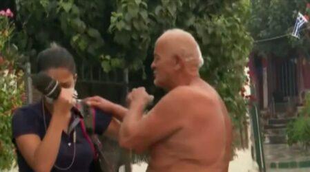 """Ευλαμπία Ρέβη για τον ηλικιωμένο: """"Εχει υποφέρει πολύ, ελπίζω το κράτος να του σταθεί"""" (BINTEO)"""