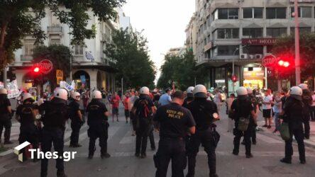 Θεσσαλονίκη: Πορεία για το ασφαλιστικό νομοσχέδιο (ΦΩΤΟ)