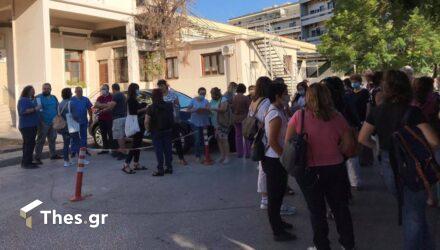 Θεσσαλονίκη: Αναβρασμός στο Ιπποκράτειο – 120 εργαζόμενοι σε αναστολή (ΒΙΝΤΕΟ & ΦΩΤΟ)