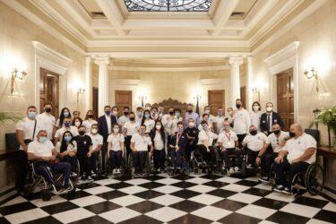 Τα μέλη της Ελληνικής αποστολής στους Παραολυμπιακούς Αγώνες υποδέχθηκε ο Κυριάκος Μητσοτάκης