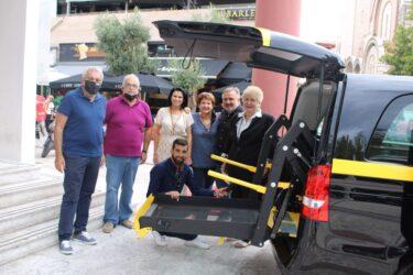 Ο Δήμος Κορδελιού Ευόσμου απέκτησε σύγχρονο 9/θέσιο όχημα μεταφοράς ηλικιωμένων