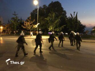 Θεσσαλονίκη: 9 συλλήψεις και 6 προσαγωγές στις σημερινές κινητοποιήσεις