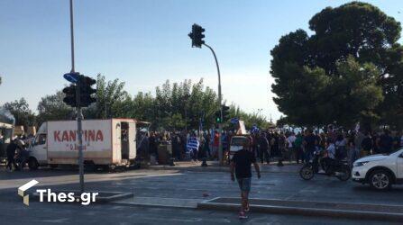 """Θεσσαλονίκη: Ξεκίνησαν οι Kινητοποιήσεις – """"Κλείνουν"""" δρόμοι στο κέντρο (ΦΩΤΟ)"""