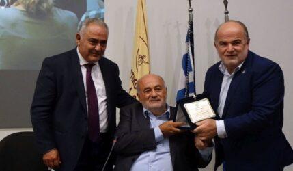 Βραβεύτηκε ο Μιχάλης Ζορπίδης στην εκδήλωση του ΕΕΘ στο πλαίσιο της 85ης ΔΕΘ (ΦΩΤΟ)