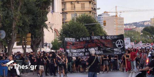 Θεσσαλονίκη: Κινητοποίηση στη μνήμη του Παύλου Φύσσα (ΦΩΤΟ)
