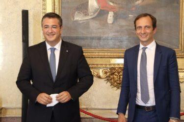 Ο Απόστολος Τζιτζικώστας συναντήθηκε με τον Περιφερειάρχη Friuli Venezia Giulia της Βόρειας Ιταλίας (ΦΩΤΟ)